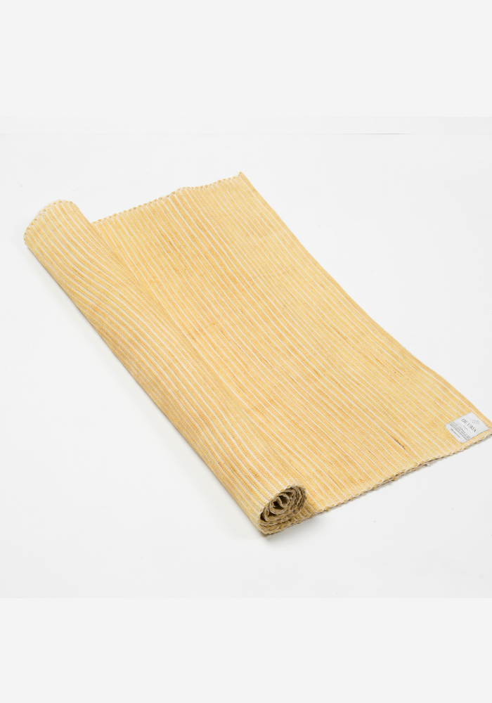 yoga mat yellow by de uria
